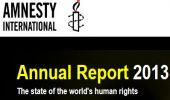 Amnesty Annual Report 2013